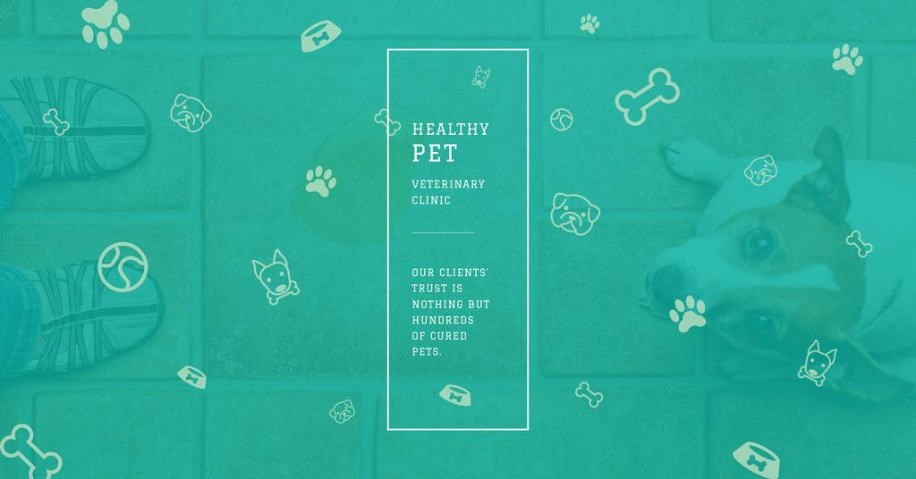 Healthy pet veterinary clinic — ein Design erstellen