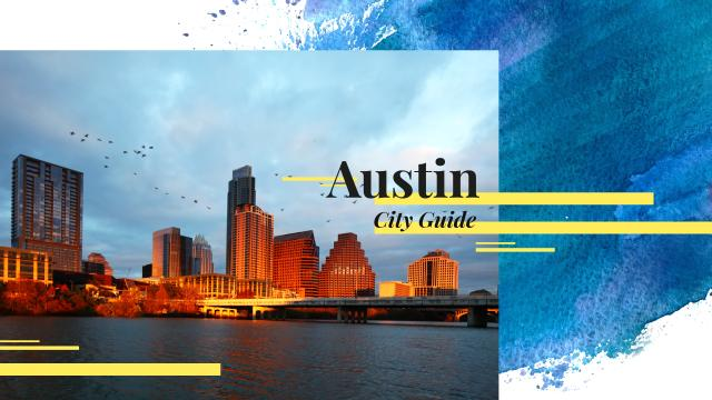 Austin city view Youtube Modelo de Design