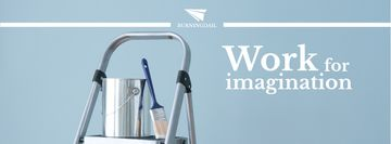 Tools for Home Renovation in Blue | Facebook Cover Template