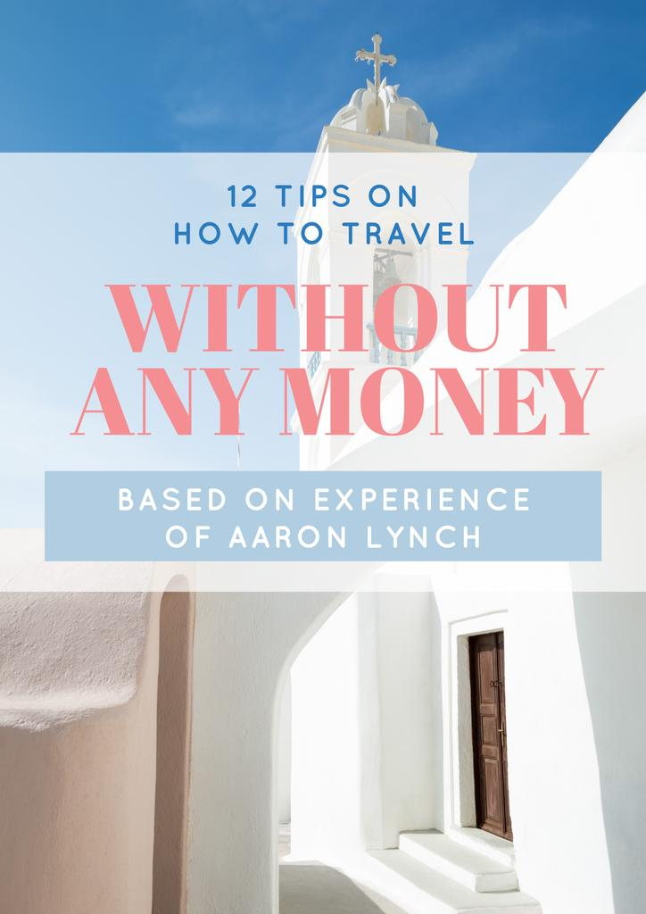 Travelling without money ad — Create a Design