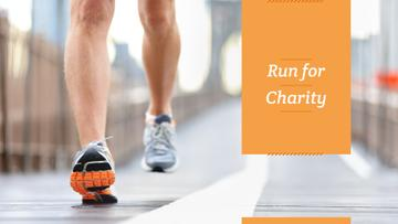 Run for charity poster