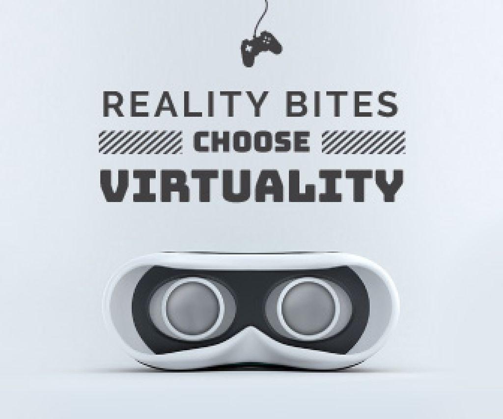 Choose virtuality banner — Створити дизайн