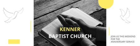 Template di design Kenner Baptist Church  Twitter