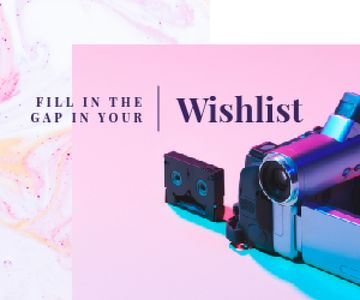 Video Camera with Film Cassette
