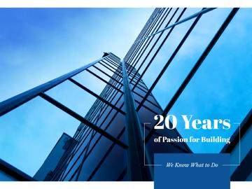 20 years of passion for building