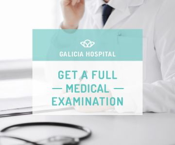 Galicia hospital advertisement