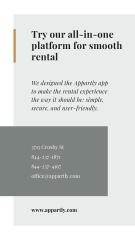 Rental App promotion