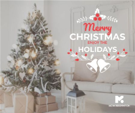 Merry Christmas card Medium Rectangle – шаблон для дизайна