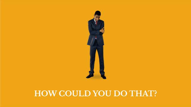 Discouraged African-American Businessman in Yellow Full HD video – шаблон для дизайна