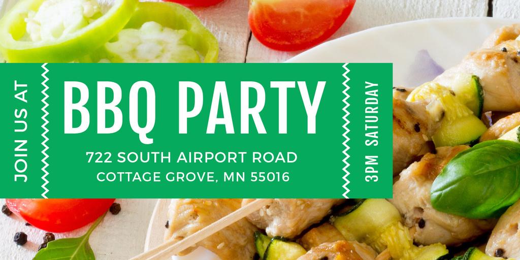 BBQ party Announcement — Modelo de projeto