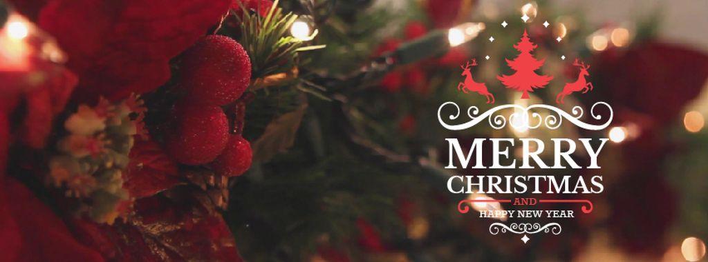 Blinking garland on Christmas tree — Create a Design