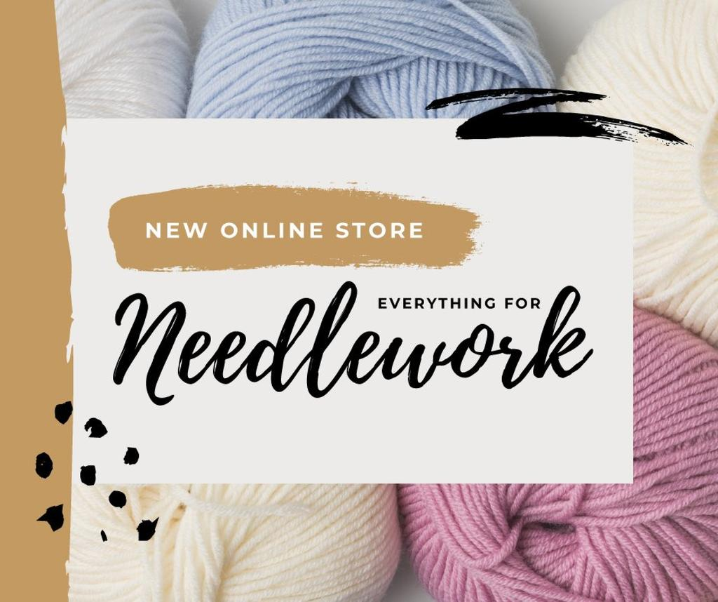 New Online Store for Needlework — ein Design erstellen