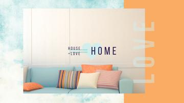 Home Decor Ideas Cozy Interior in Pastel Colors | Youtube Channel Art