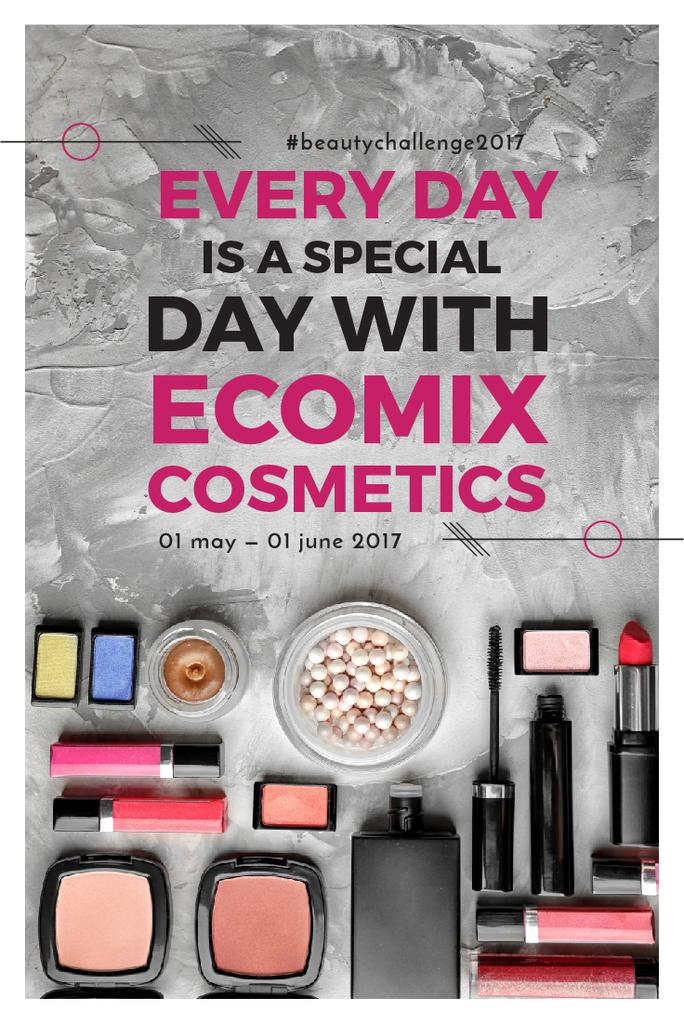 Ecomix cosmetics poster — Create a Design