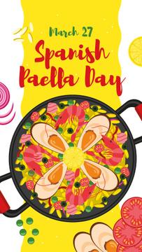 Spanish Paella Day dish