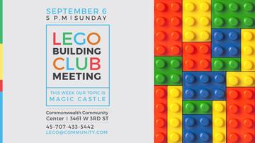 Lego Building Club meeting Constructor Bricks
