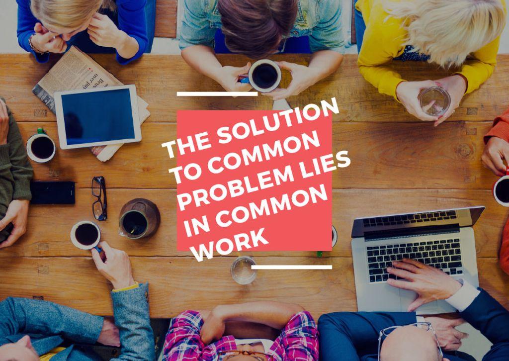 Citation about the solution to common problem — Modelo de projeto