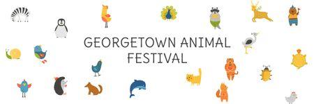 Plantilla de diseño de Georgetown Animal Festival Email header