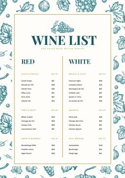 Wine Bar drinks