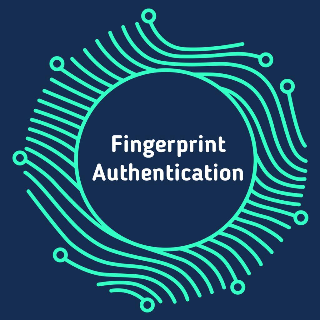 Digital fingerprint icon — Створити дизайн