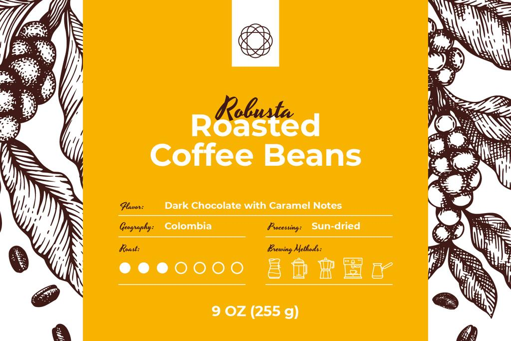 Roasted Beans pattern — Crear un diseño