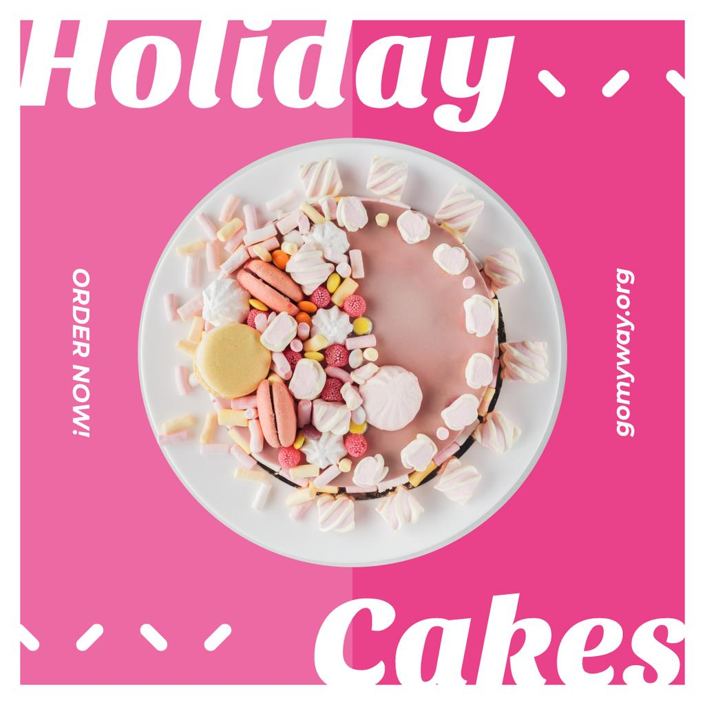 Bakery Promotion Sweet Pink Cake —デザインを作成する