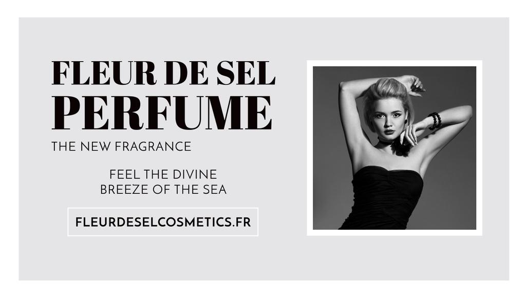 Modèle de visuel Perfume Ad with Attractive Woman - Youtube