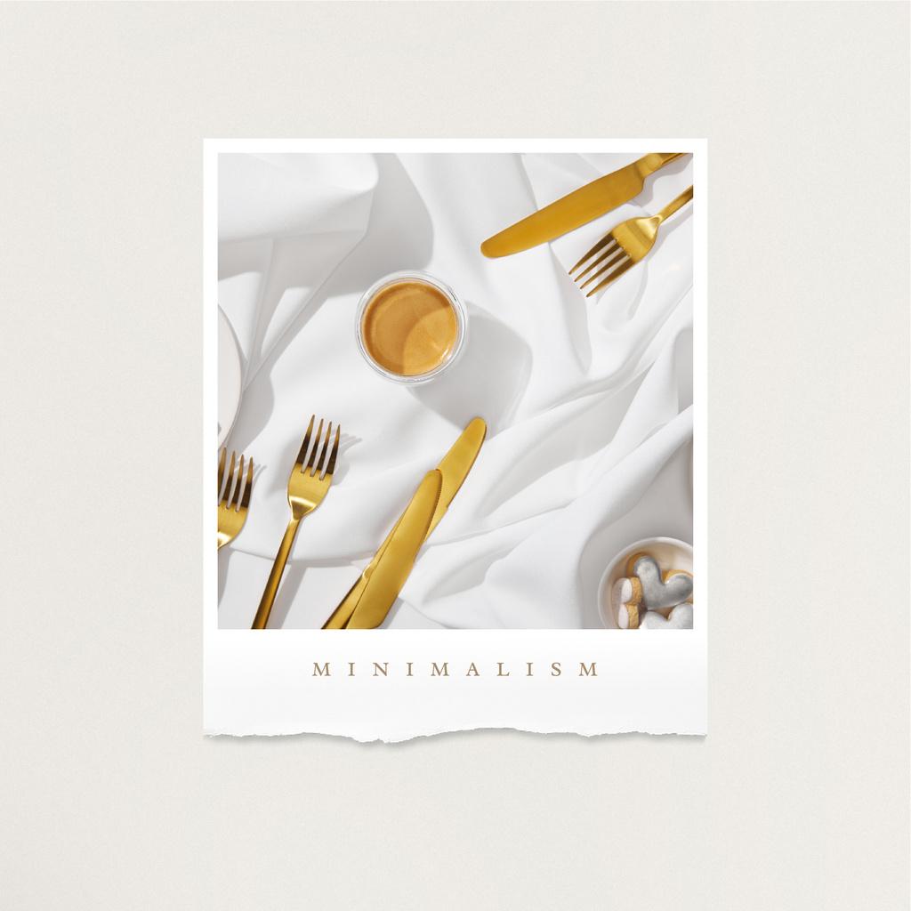 Designvorlage Breakfast in bed with Coffee and Cookie für Instagram