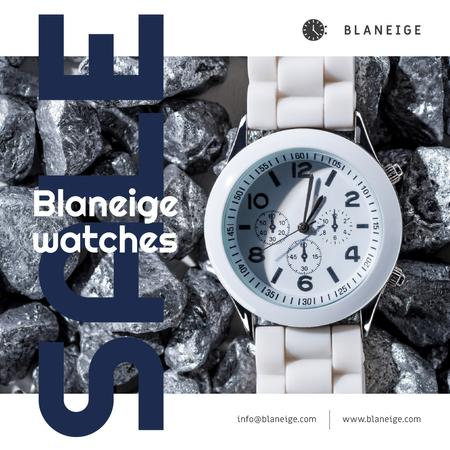 Plantilla de diseño de Accessories Sale with White Watch Instagram