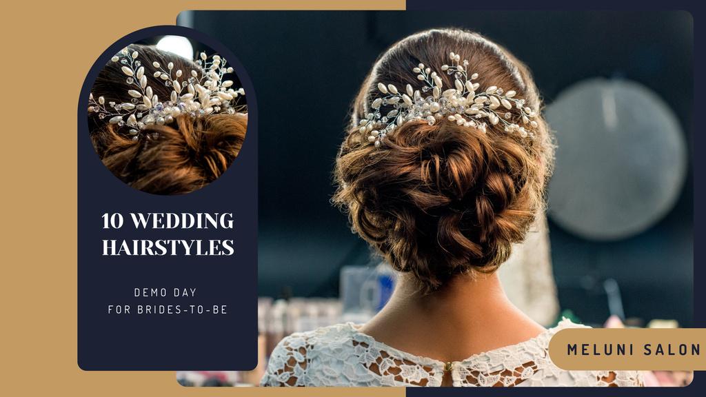 Wedding Hairstyle inspiration Bride with Braided Hair — Crear un diseño