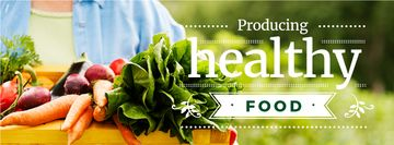 producing healthy food poster