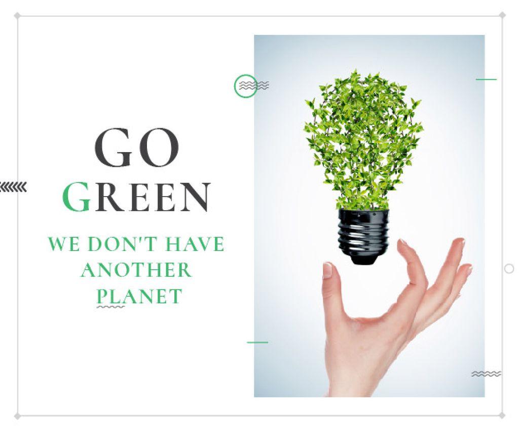 Citation about green planet — Создать дизайн