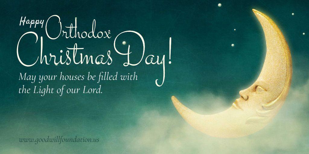Plantilla de diseño de Happy Christmas card Image