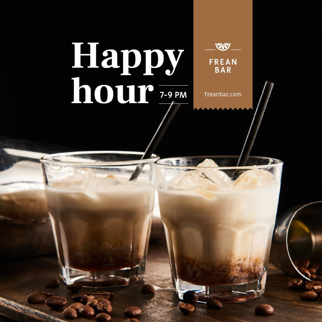 Special Offer with Coffee Coctails — Modelo de projeto