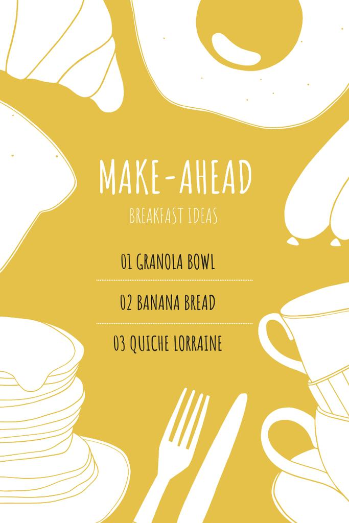 Breakfast dish ideas — Crear un diseño