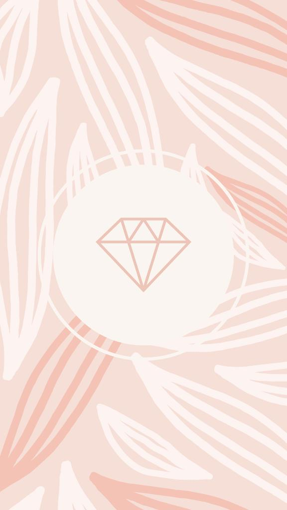Fashion store icons in pink Instagram Highlight Cover – шаблон для дизайна