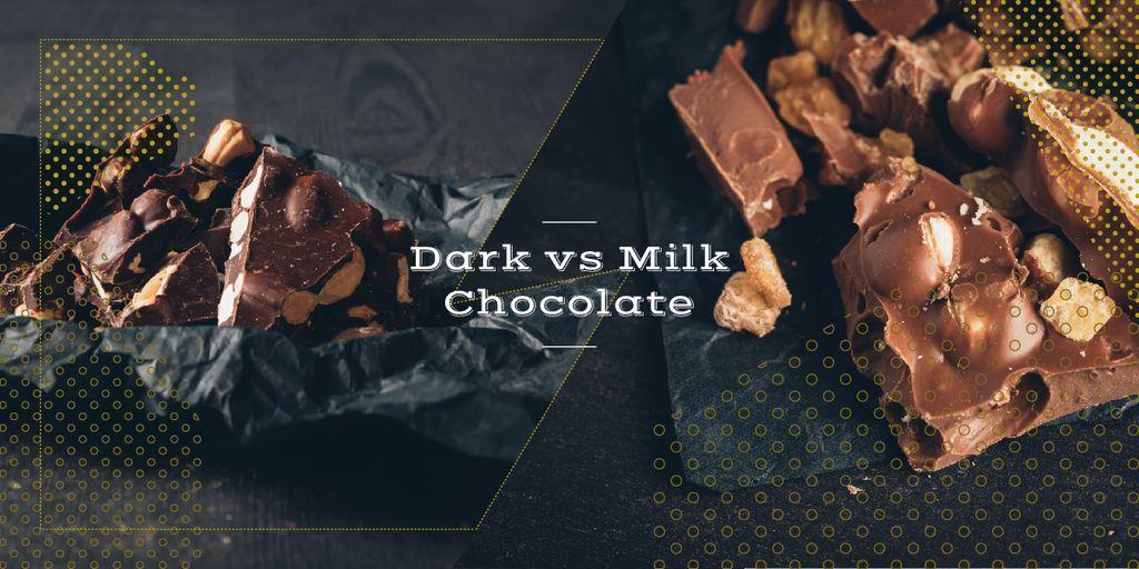 Sweet chocolate pieces — Maak een ontwerp