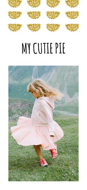 Happy Girl in meadow Snapchat Moment Filter – шаблон для дизайну