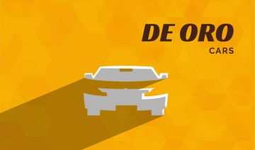 de oro cars bright card