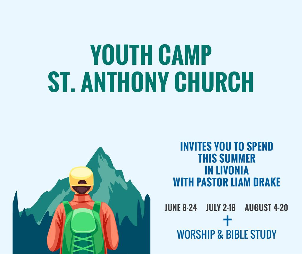 Youth Religion Camp Of St Anthony Church Facebook Beitrag 940x788px