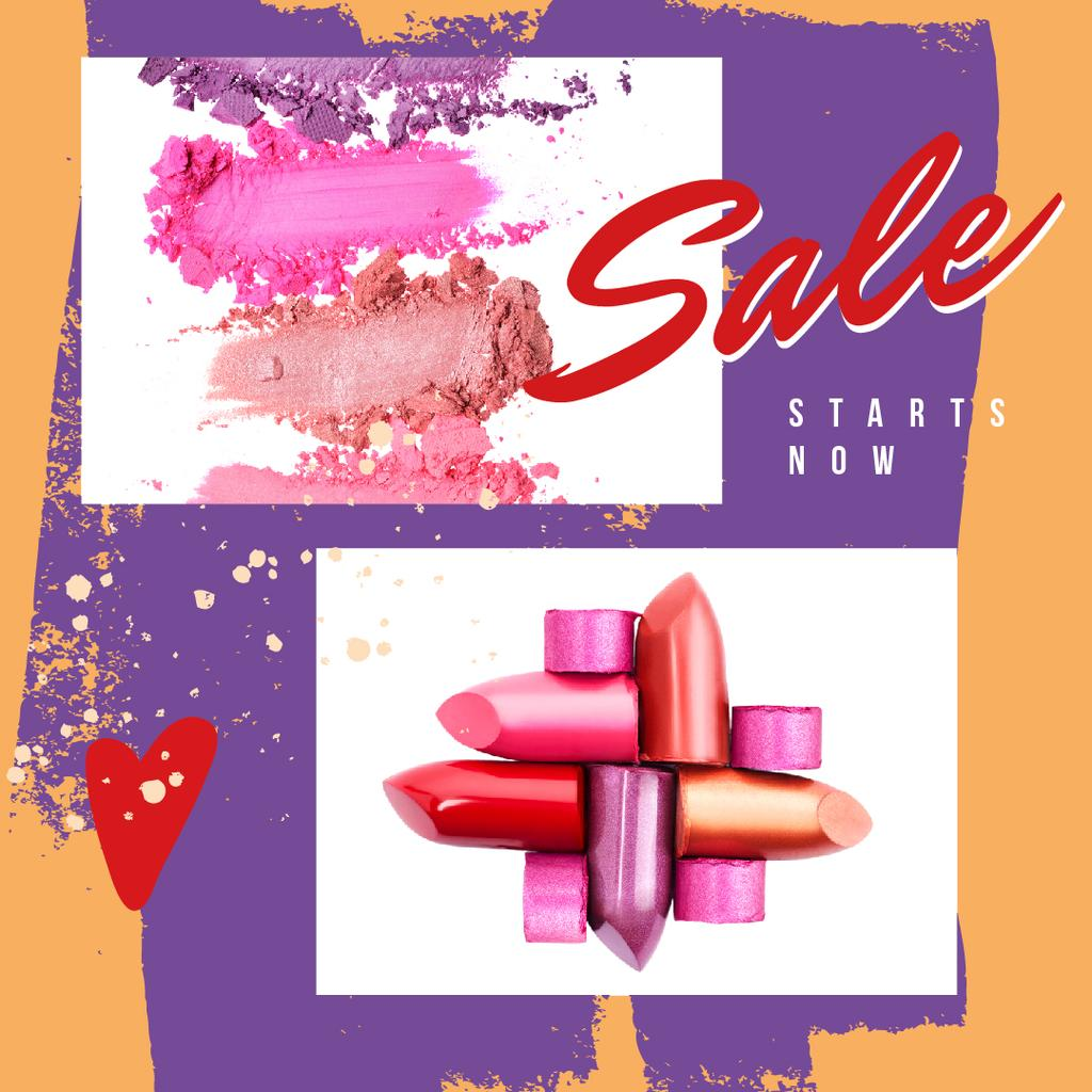 Colorful lipstick pieces — Create a Design