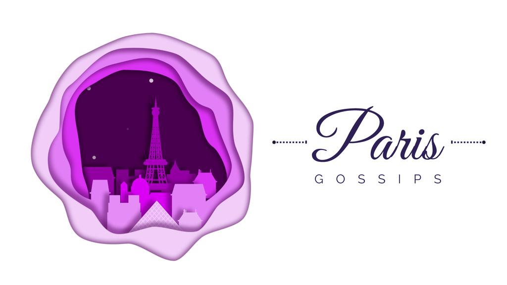 Paris famous travelling spots — Создать дизайн