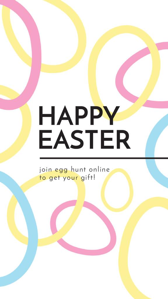 Egg Hunt Offer with rotating Easter Eggs — Créer un visuel
