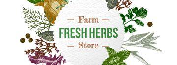 Farm Natural Herbs Frame
