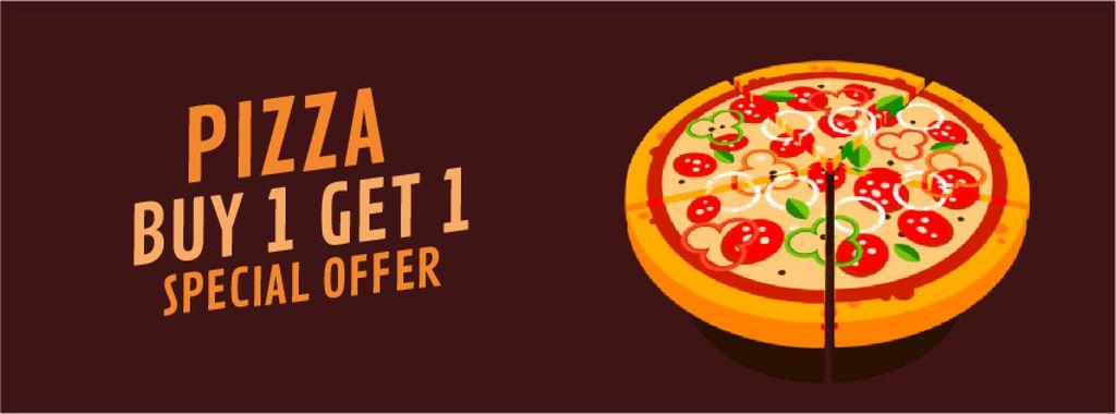 Delicious Italian pizza — Modelo de projeto