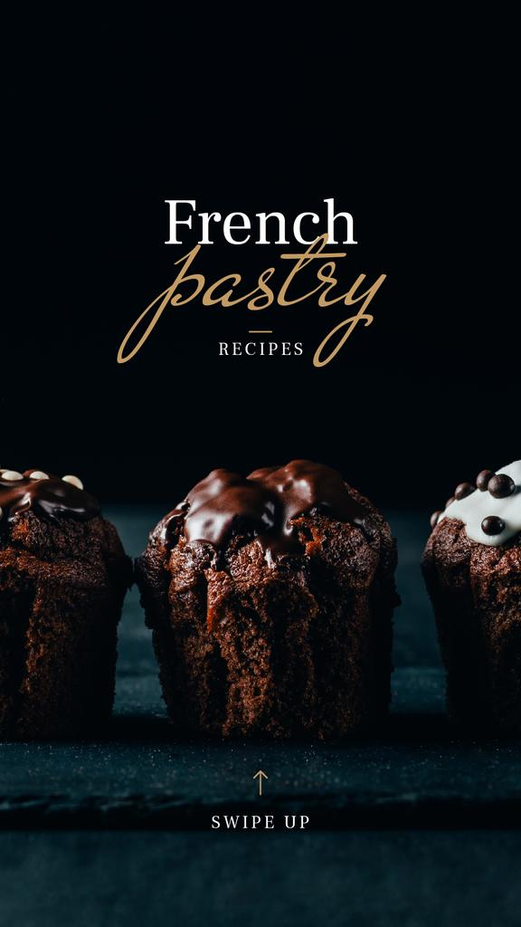Pastry Offer with Sweet chocolate cakes — Crear un diseño