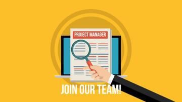 Join Our Team Project Manager
