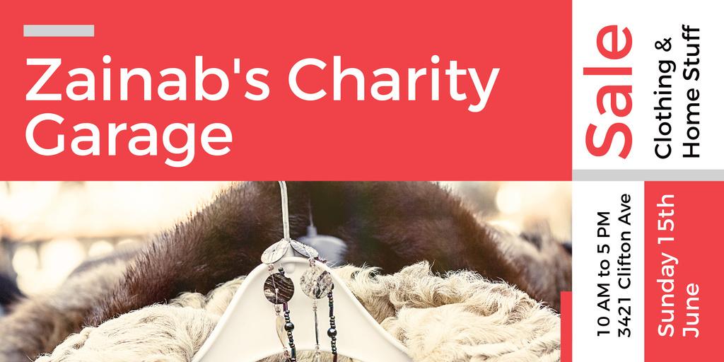 Zainab's charity Garage — Créer un visuel