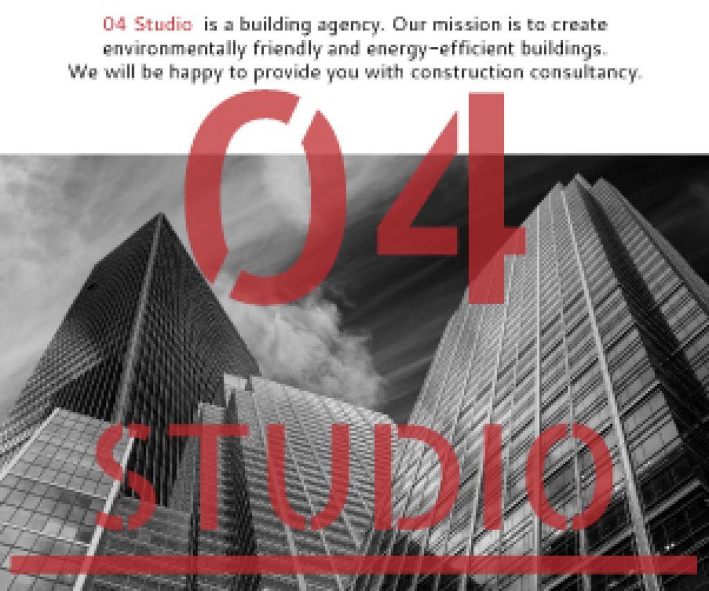 Building agency banner Medium Rectangle – шаблон для дизайну