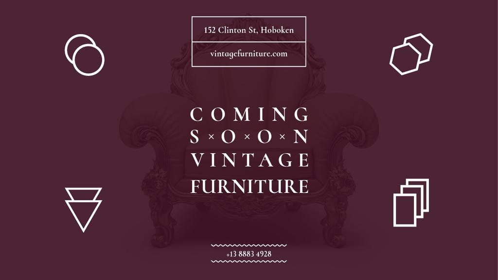 Antique Furniture Ad Luxury Armchair — Создать дизайн